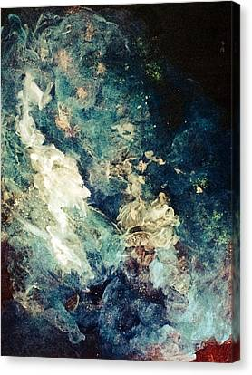 Descensors Canvas Print by Kathleen Fowler