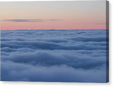 Descent Canvas Print by Bruce Patrick Smith