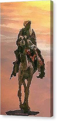 Desert. Bedouin. Canvas Print
