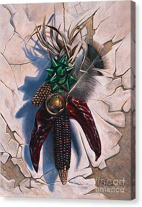 Desert Bow Canvas Print
