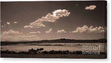 Desert Clouds Canvas Print by Gregory Dyer
