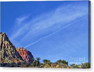 Las Vegas Canvas Print - Desert Contrast by C Sakura