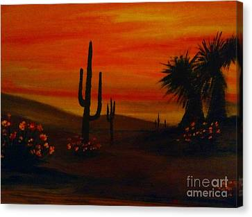 Desert Dance Canvas Print