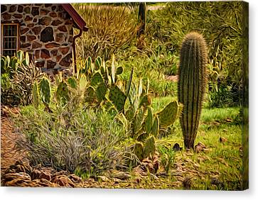 Canvas Print featuring the photograph Desert Dream by Mark Myhaver