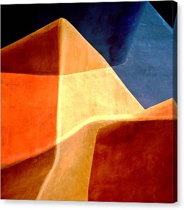 Desert Dunes Number 1 Canvas Print by Carol Leigh