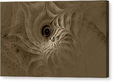 Desert Etching Canvas Print
