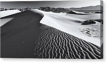Canvas Print featuring the photograph Desert Flow by Patrick Downey