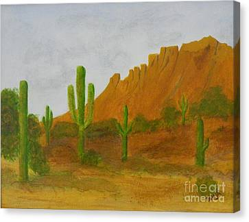 Desert Forest Canvas Print