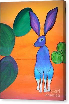 Desert Jackrabbit Canvas Print