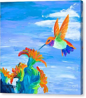 Desert Jewel Canvas Print by Tracy L Teeter