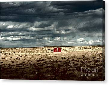 Desert Landscape Canvas Print by Julie Lueders