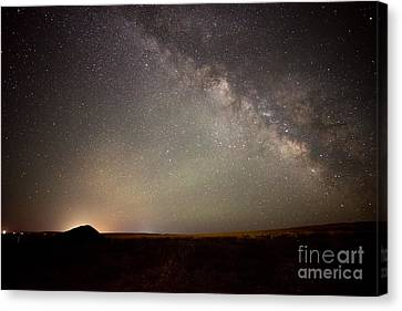 Desert Milky Way Canvas Print by Dianne Phelps