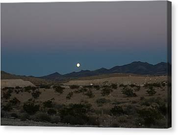 Desert Moon-1 Canvas Print