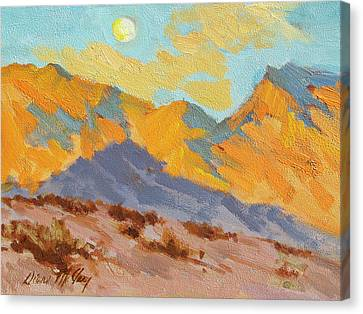 Desert Morning La Quinta Cove Canvas Print by Diane McClary