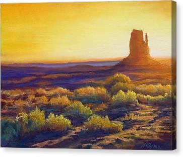 Desert Morning Canvas Print