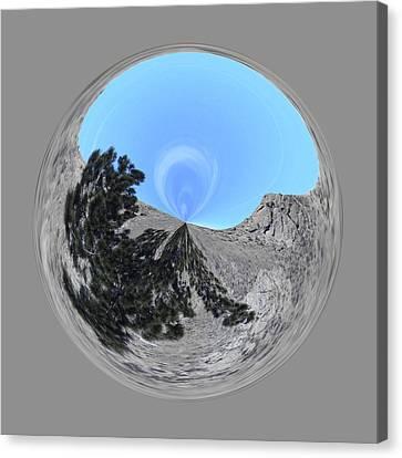 Desert Orb 2 Canvas Print by Brent Dolliver