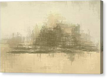 Abstract Expressionism Canvas Print - Desert Sands by Lonnie Christopher