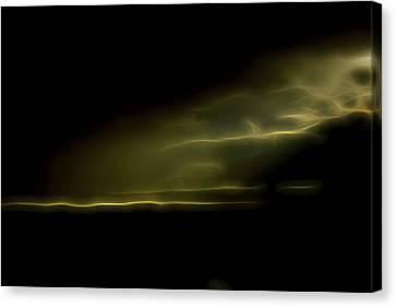 Desert Spotlight Canvas Print by William Horden