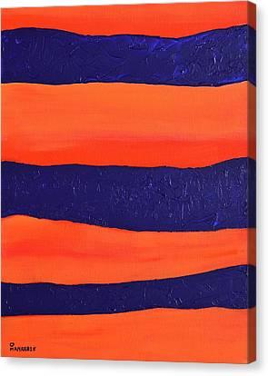 Desert Streams Canvas Print