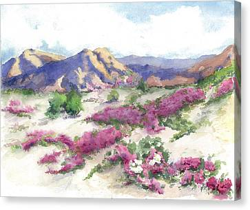Desert Verbena Canvas Print
