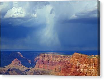 Desert View Grand Canyon Canvas Print by Bob Christopher