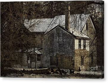Deserted 2 Canvas Print by Judy Wolinsky