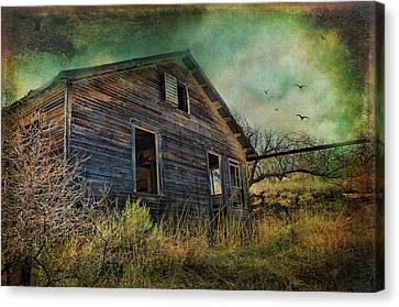 Deserted Canvas Print by Barbara Manis