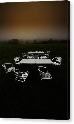 ...deserted Dessert.. Canvas Print by Russell Styles