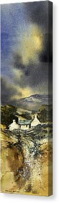 Deserted Farm West Cork Canvas Print by Roland Byrne