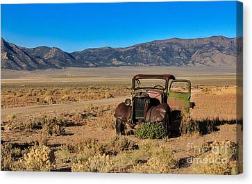 Deserted Canvas Print by Robert Bales