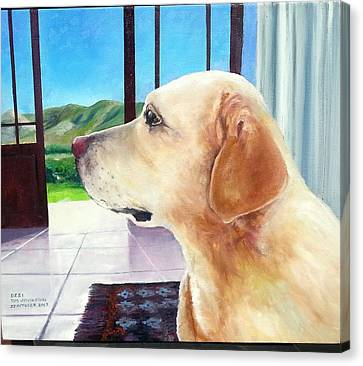 Desi Canvas Print