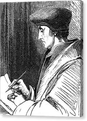 Desiderius Erasmus Canvas Print by Collection Abecasis