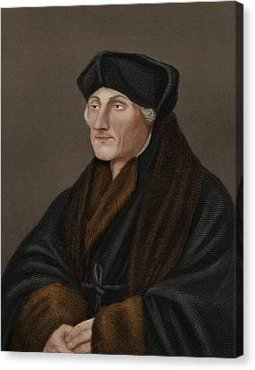 Desiderius Erasmus, Dutch Humanist Canvas Print