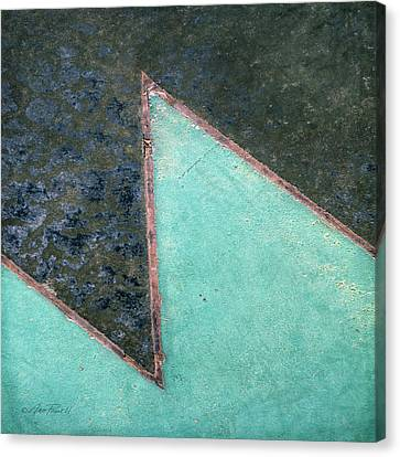 Design Underfoot   Abstract Photograph Canvas Print by Ann Powell