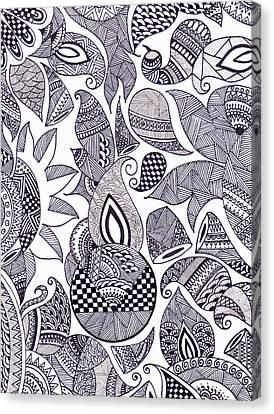 Designed  Canvas Print
