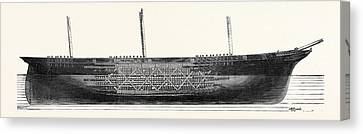 Designs For A System Of Composite Shipbuilding Recommended Canvas Print