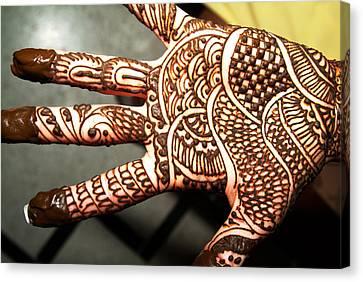 Designs Of Henna Canvas Print