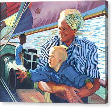 Desire Canvas Print by David Randall