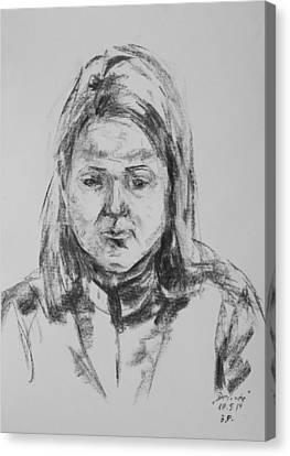 Desiree Canvas Print by Barbara Pommerenke