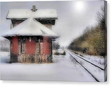 Desolate Depot Canvas Print