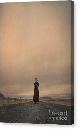 Desolate Ever After Canvas Print by Evelina Kremsdorf