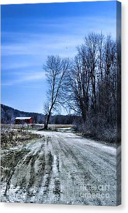 Desolate Road Canvas Print by HD Connelly