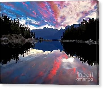 Desolation Sound Canvas Print by Robert Bales