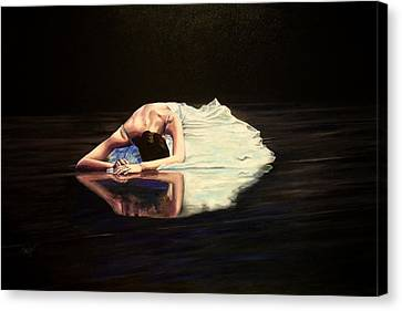 Despair Canvas Print by Maren Jeskanen