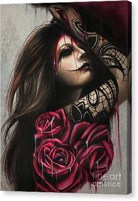 Frustration Canvas Print - Despair by Sheena Pike