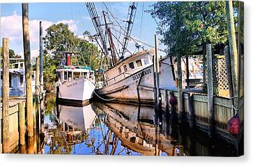 Desperado In Bayou La Batre Canvas Print