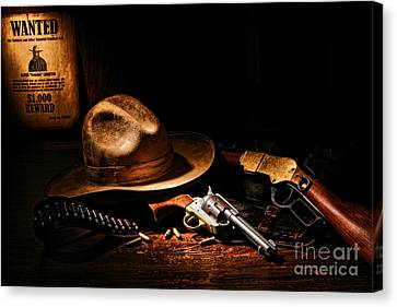 Desperado Canvas Print by Olivier Le Queinec