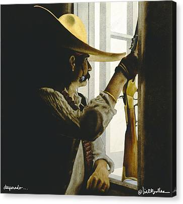 Desperado... Canvas Print by Will Bullas