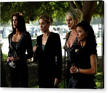 Desperate Housewives Tv Serie - 1 Canvas Print by Gabriel T Toro