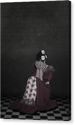 Desperate Canvas Print by Joana Kruse